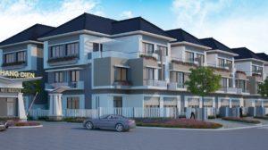 Phối cảnh tổng quan dự án nhà phố Merita Khang Điền tại Quận 9