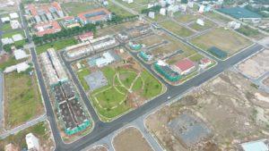 Hình ảnh thực tế dự án Lovera Park Khang Điền Bình Chánh. Ảnh Khang Điền