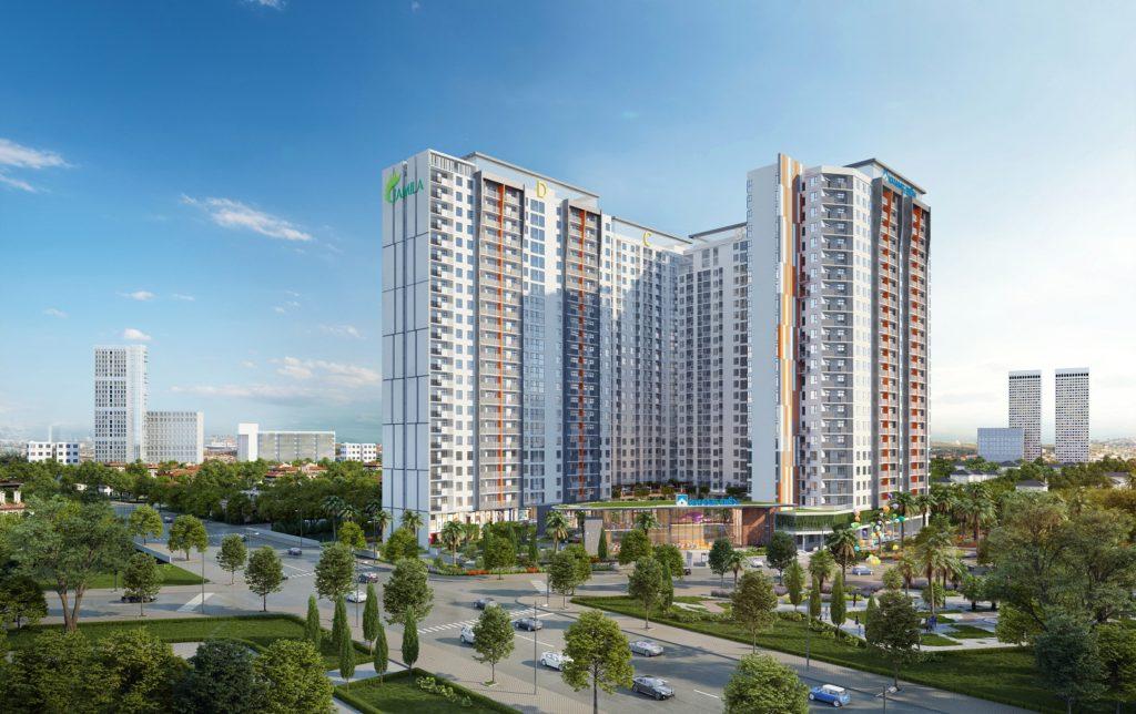 Phối cảnh dự án căn hộ Jamila Khang Điền