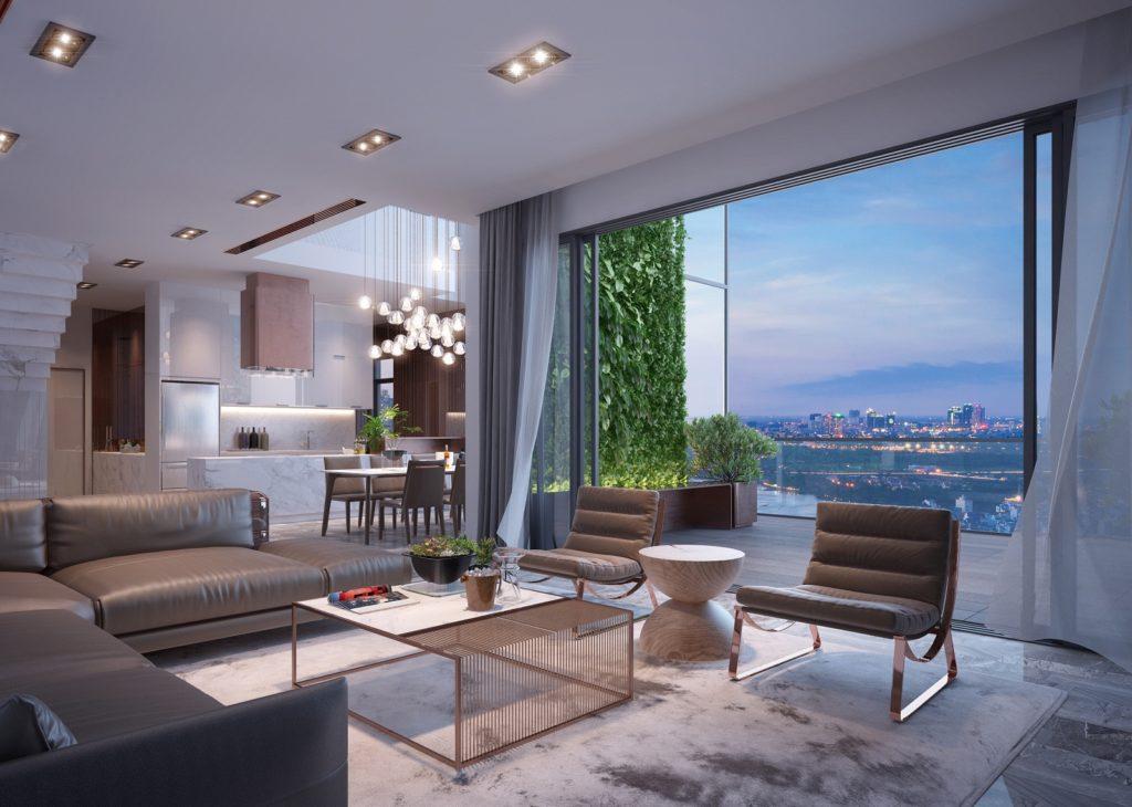 Phối cảnh thiết kế căn hộ Jamila Khang Điền Quận 9. Khang Điền HCM