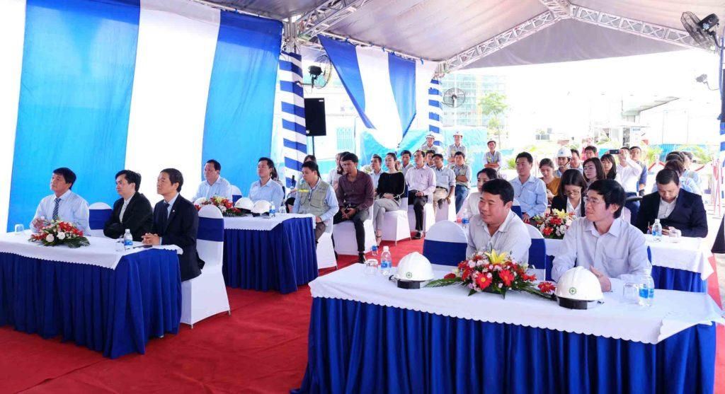 Sự tham gia của ban lãnh đạo Công ty Khang Điền, Hòa Bình, đơn vị tư vấn giám sát SCQC cùng các đơn vị đối tác