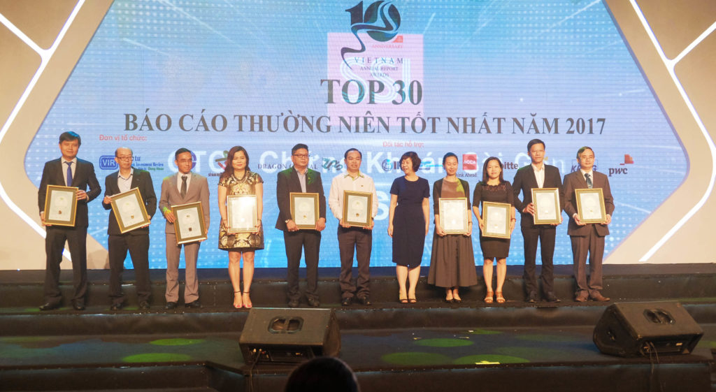 KHANG ĐIỀN ĐƯỢC VINH DỰ BÌNH CHỌN TOP 30 BÁO CÁO THƯỜNG NIÊN TỐT NHẤT 2017 . FIND HOME