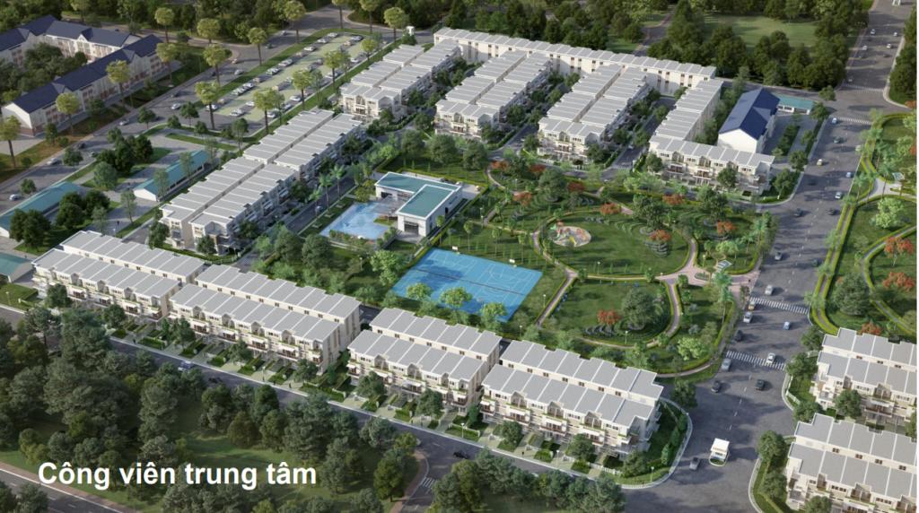 Phối cảnh Dự án Nhà phố Lovera Park Bình Chánh sau khi hoàn thành. Find Home