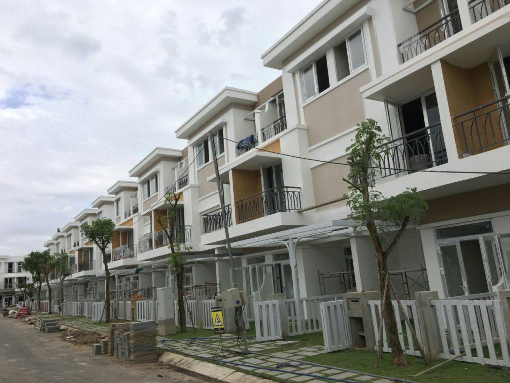 Block K - Lovera Park Bình Chánh. đơn vị xây dựng đang thi công cũng công đoạn cuối cùng.