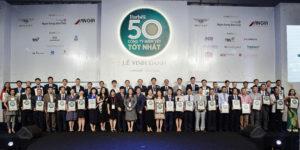 Forbes Việt Nam vinh danh top 50 doanh nghiệp niêm yết tốt nhất năm 2017