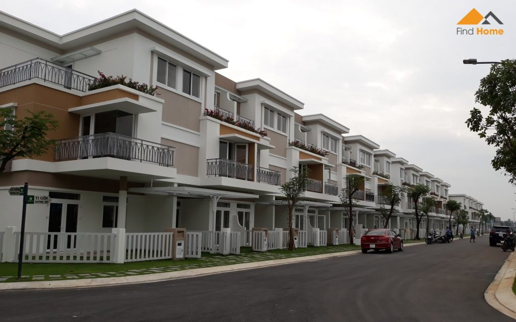 Hình ảnh thực tế tại Dự án Nhà phố Lovera Park Bình Chánh