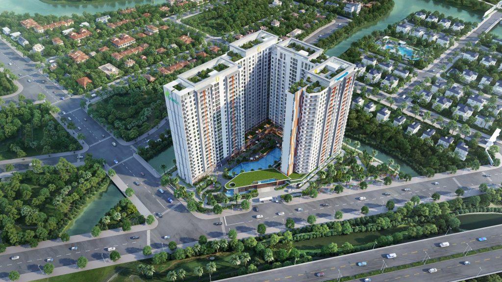 Phối cảnh dự án căn hộ Jamila Khang Điền Quận 9. Khang Điền HCM