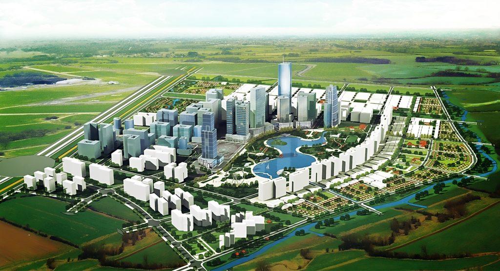 Phối cảnh dự án Khu đô thị Khang Điền Tân Tạo Bình Tân