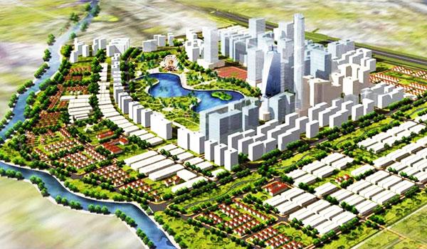 Phối cảnh tổng quan Khu đô thị Tân Tạo Bình Tân - Khang Điền HCM