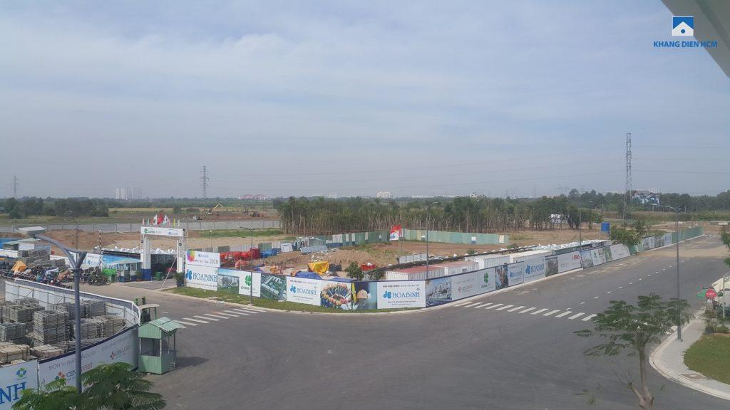 Tiến độ xây dựng Dự án căn hộ Lovera Park Bình Chánh. Ảnh Khang Điền HCM