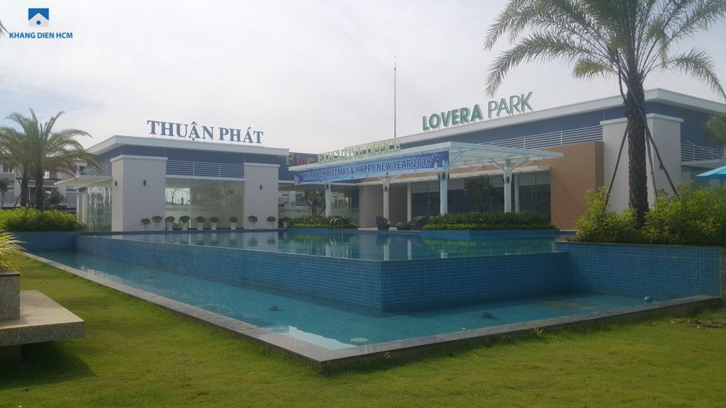 Khu vực tiện ích của dự án Lovera Park Bình Chánh. Ảnh Khang Điền HCM