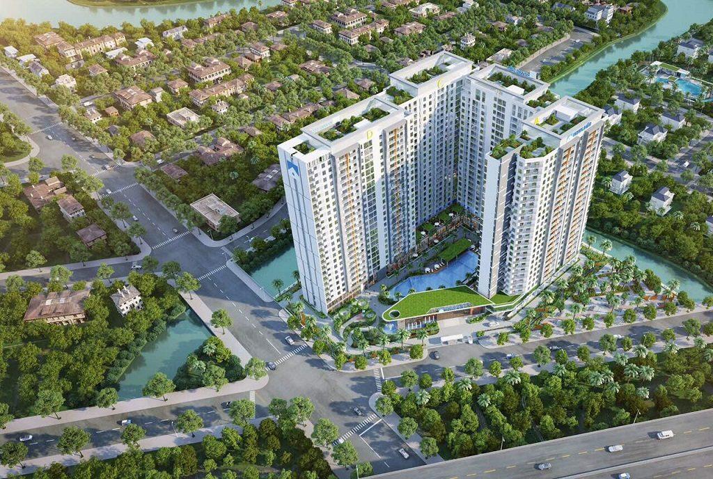 Phối cảnh tổng thể dự án căn hộ Jamila Khang Điền - Khang Điền HCM