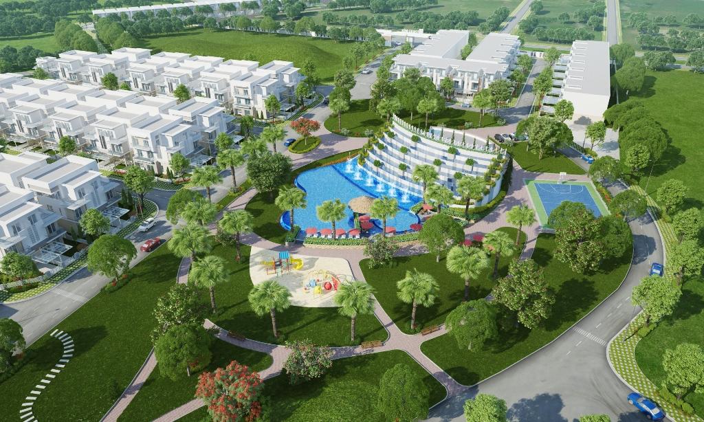 Dự án nhà phố Melosa Garden Khang Điền hcm