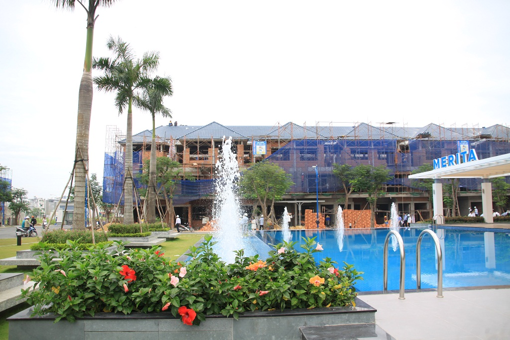 Dự án nhà phố Merita Tháp Mười Khang Điền hcm