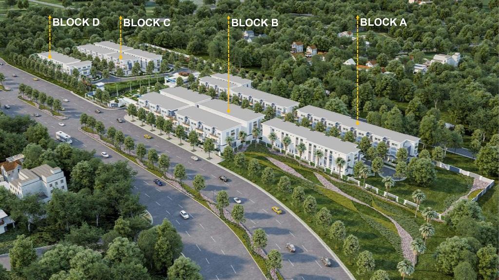 Dự án nhà phố Rosita Garden Khang Điền hcm
