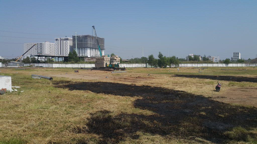 Khu đất xây dựng căn hộ thoáng 4 mặt, tiếp giáp với đường Vành Đai 2 - Khang Điền HCM