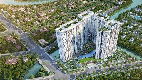 Phối cảnh tổng quan dự án Jamila Khang Điền Quận - Khang Điền HCM
