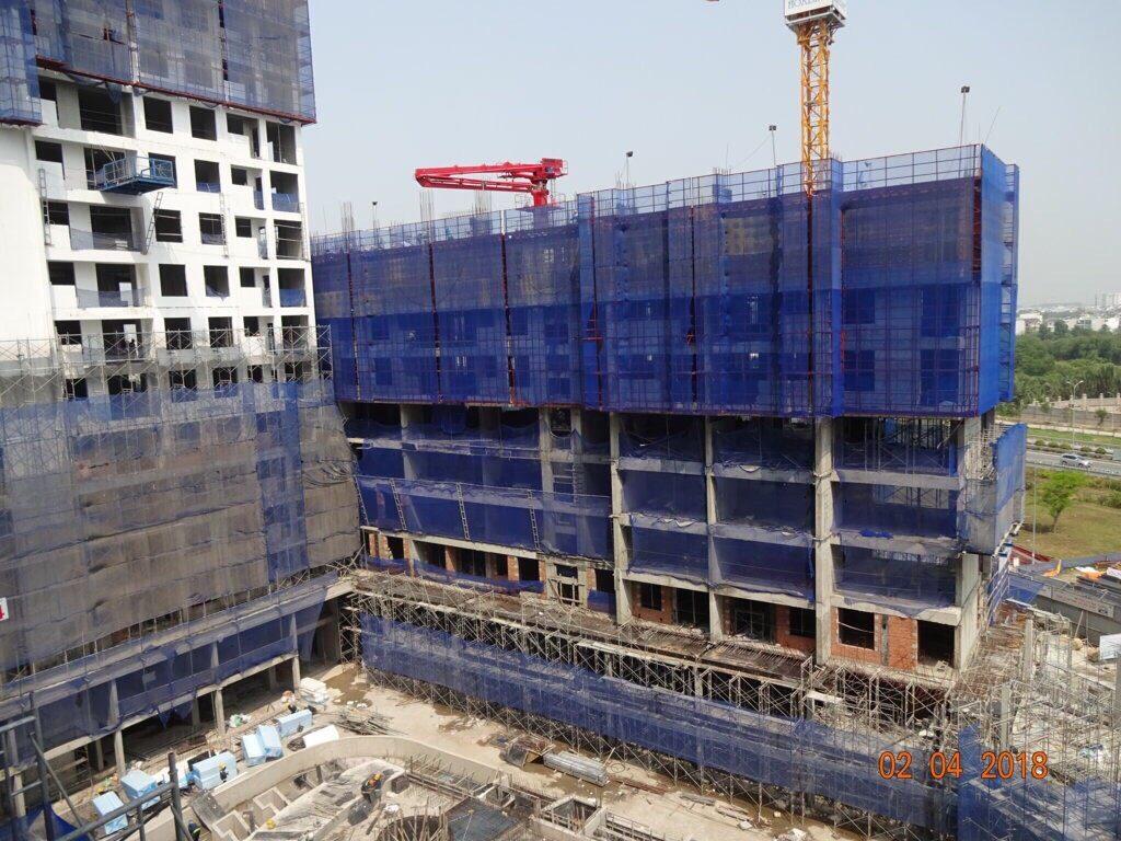 Block A nhìn từ trên cao hướng Block D - Khang Điền HCM