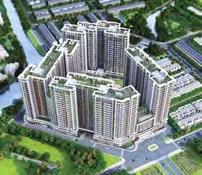 Phối cảnh tổng thể căn hộ Saphire Khang Điền Quận 9 - Khang Điền HCM