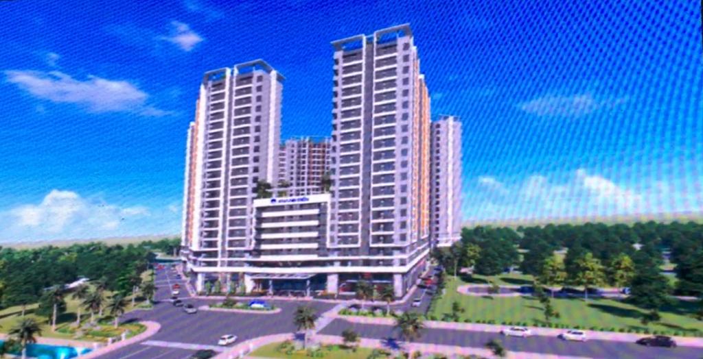 Phối cảnh tổng thể dự án căn hộ Saphire Khang Điền Quận 9 - Khang Điền HCM