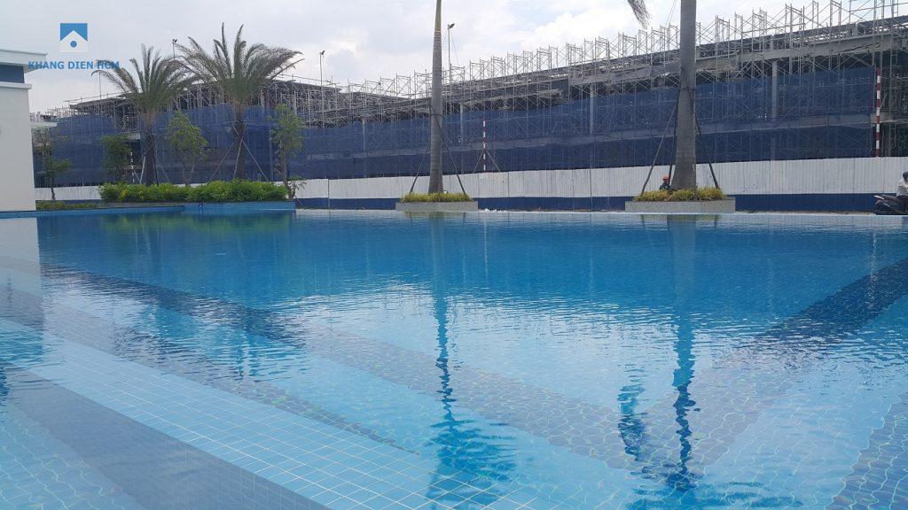 Hồ bơi phục vụ cho cư dân thuộc Khu 1 dự án Lovera Park - Khang Điền HCM