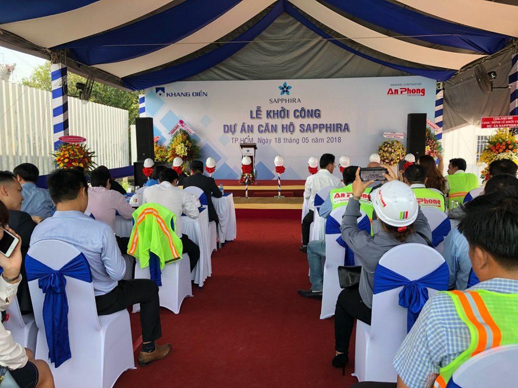 Khang Điền chính thức công bố khởi công dự án căn hộ Sapphira Quận 9 - Khang Điền HCM