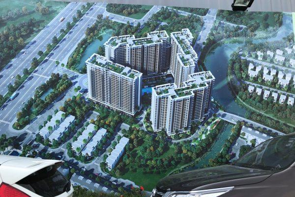 Phối cảnh tổng thể dự án căn hộ Sapphira Khang Điền Quận 9 - Khang Điền HCM