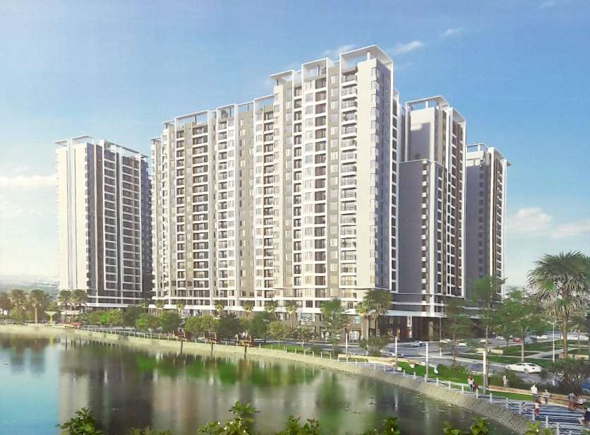 Phối cảnh tổng quan dự án Sapphira Khang Điền quận 9. Ảnh : minh họa