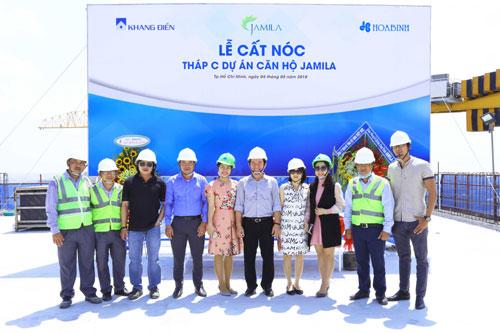 Lễ cất nóc Block C dự án căn hộ Jamila Khang Điền Quận 9 - Khang Điền HCM