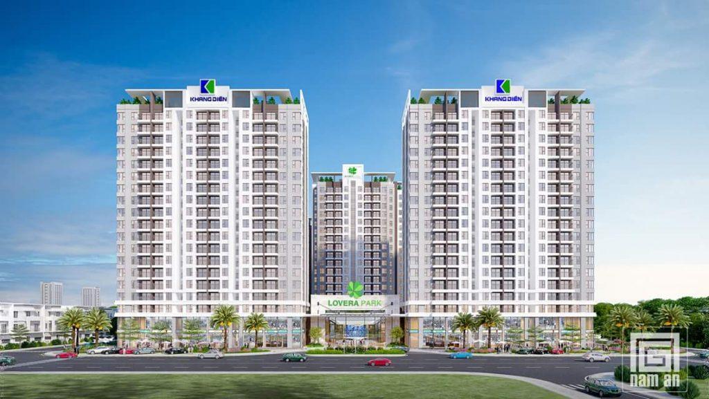 Phối cảnh dự án căn hộ Lovera Vista Bình Chánh - Khang Điền HCM