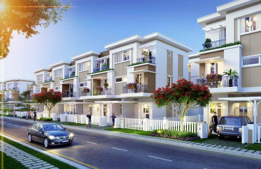 Phối cảnh dự án nhà phố Lovera Park những căn 7x15m - Khang Điền HCM