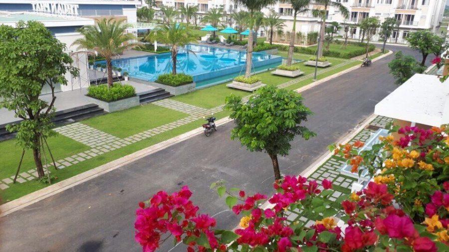 Một hồ bơi tại phân khu khác của dự án Lovera Park Bình Chánh - Khang Điền HCM