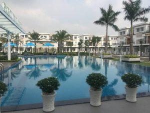 Hồ bơi nội khu phục vụ cho cư dân tại dự án Lovera Park Bình Chánh - Khang Điền HCM