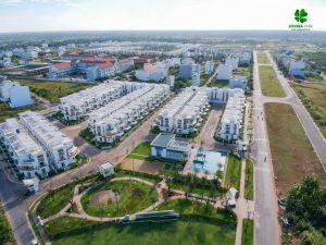 Khu 3 với 145 căn nhà phố thiết kế 1 trệt 2 lầu đã đi vào sinh sống ổn định tại dự án Lovera Park Bình Chánh - Khang Điền HCM