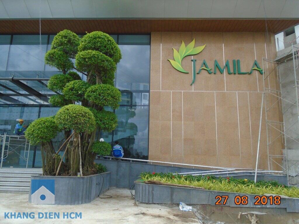Dự án căn hộ Jamila Khang Điền đang tiến hành hoàn thiện cảnh quan để kịp bàn giao vào cuối năm 2018 - Khang Điền HCM