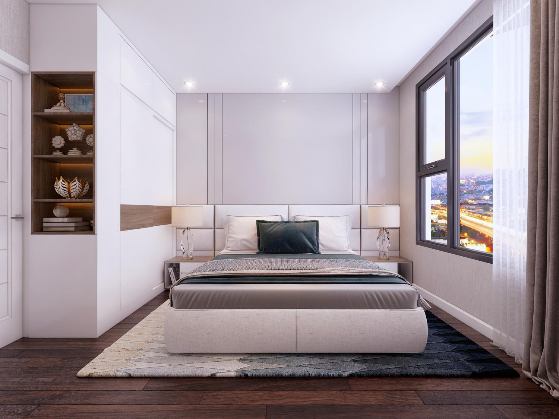 Thiết kế Phòng Ngủ Master căn hộ 2PN tại dự án Safira Quận 9 - Khang Điền HCM
