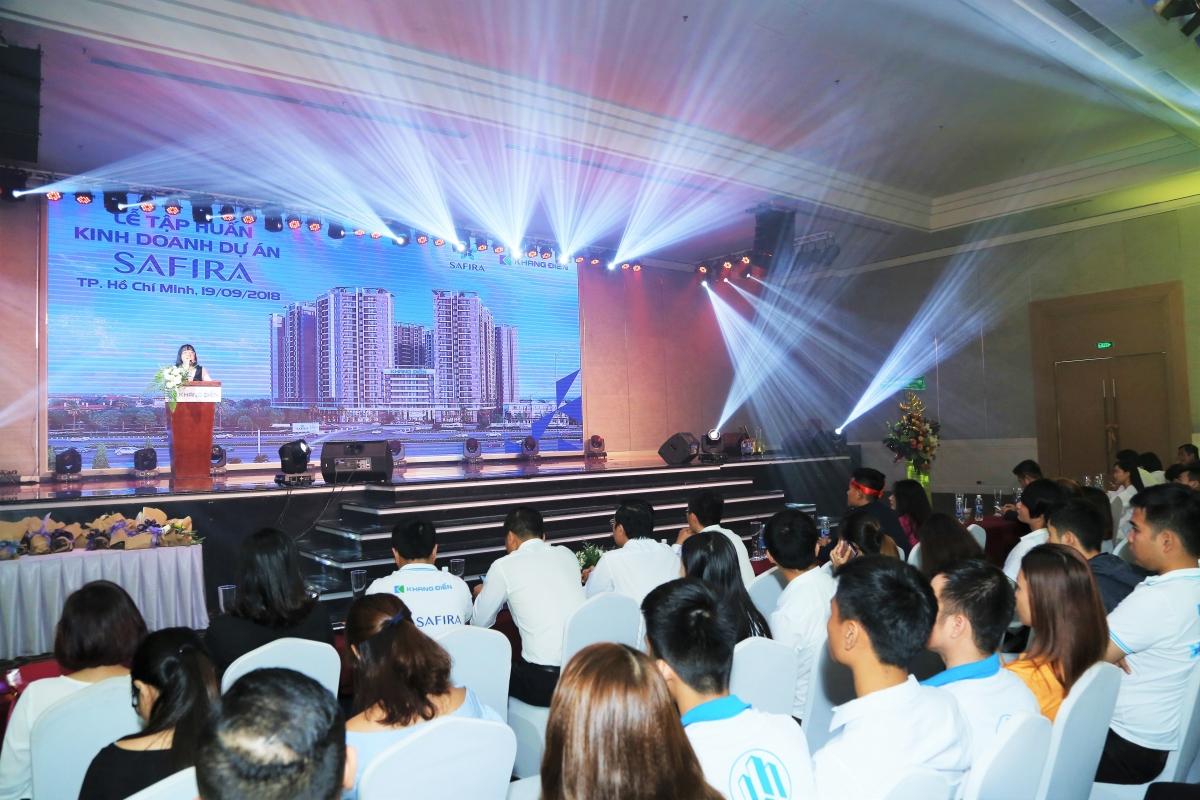 Bà Ngô Thị Mai Chi Tổng Giám Đốc Khang Điền chia sẻ thông tin và tiềm năng của dự án Safira Quận 9 - Khang Điền HCM