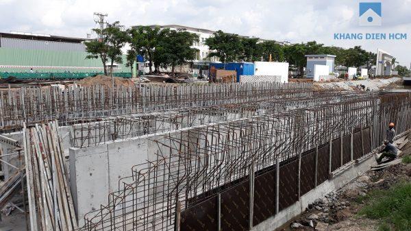 Đường chính bắt từ Đường Võ Chí Công vào dự án Safira đang được thi công - Khang Điền HCM