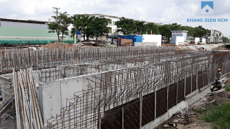 Đường chính nối từ Đường Võ Chí Công vào dự án Safira đang được thi công - Khang Điền HCM