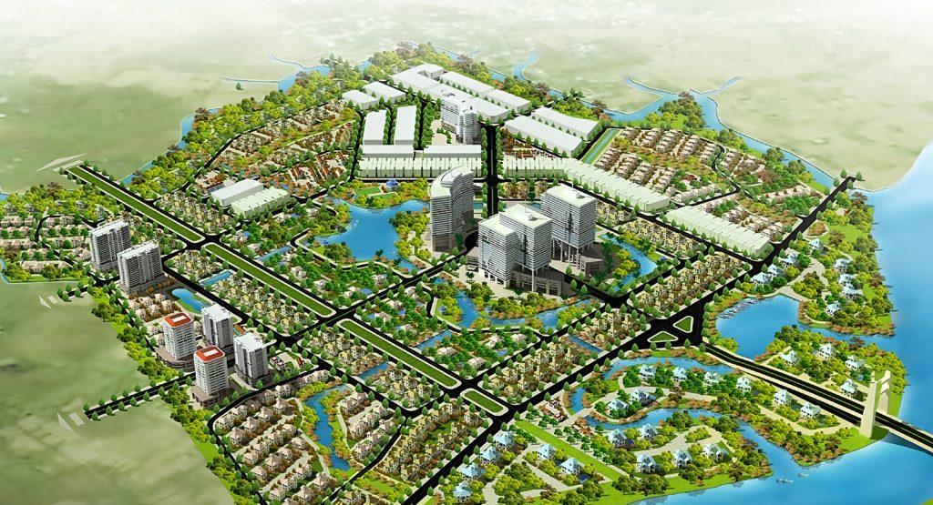 Phối cảnh dự án The Green Village - KDC Phong Phú 2 của BCCI (nay đổi tên thành công ty nhà Khang Phúc).