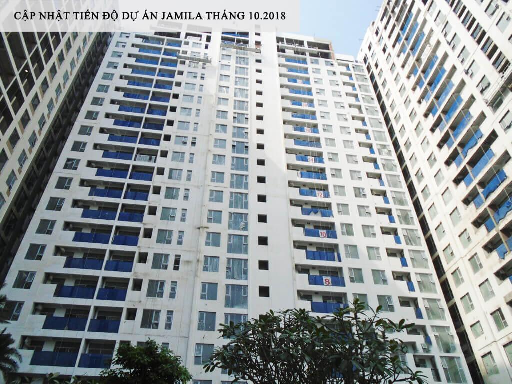 Block B tiến độ hoàn thành được hơn 80% sẽ bàn giao nhà cho khách hàng vào tháng 5/2019 - Khang Điền HCM