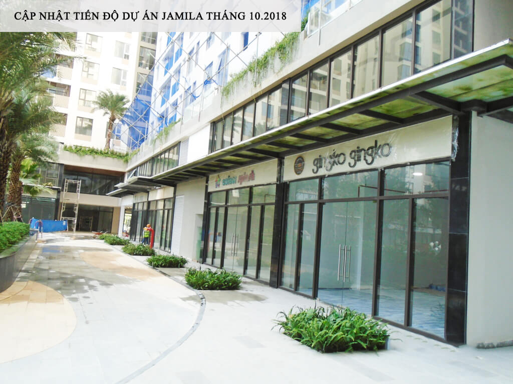 Khu Shophouse đã sẵn sàng phục vụ cư dân về sinh sống - Khang Điền HCM