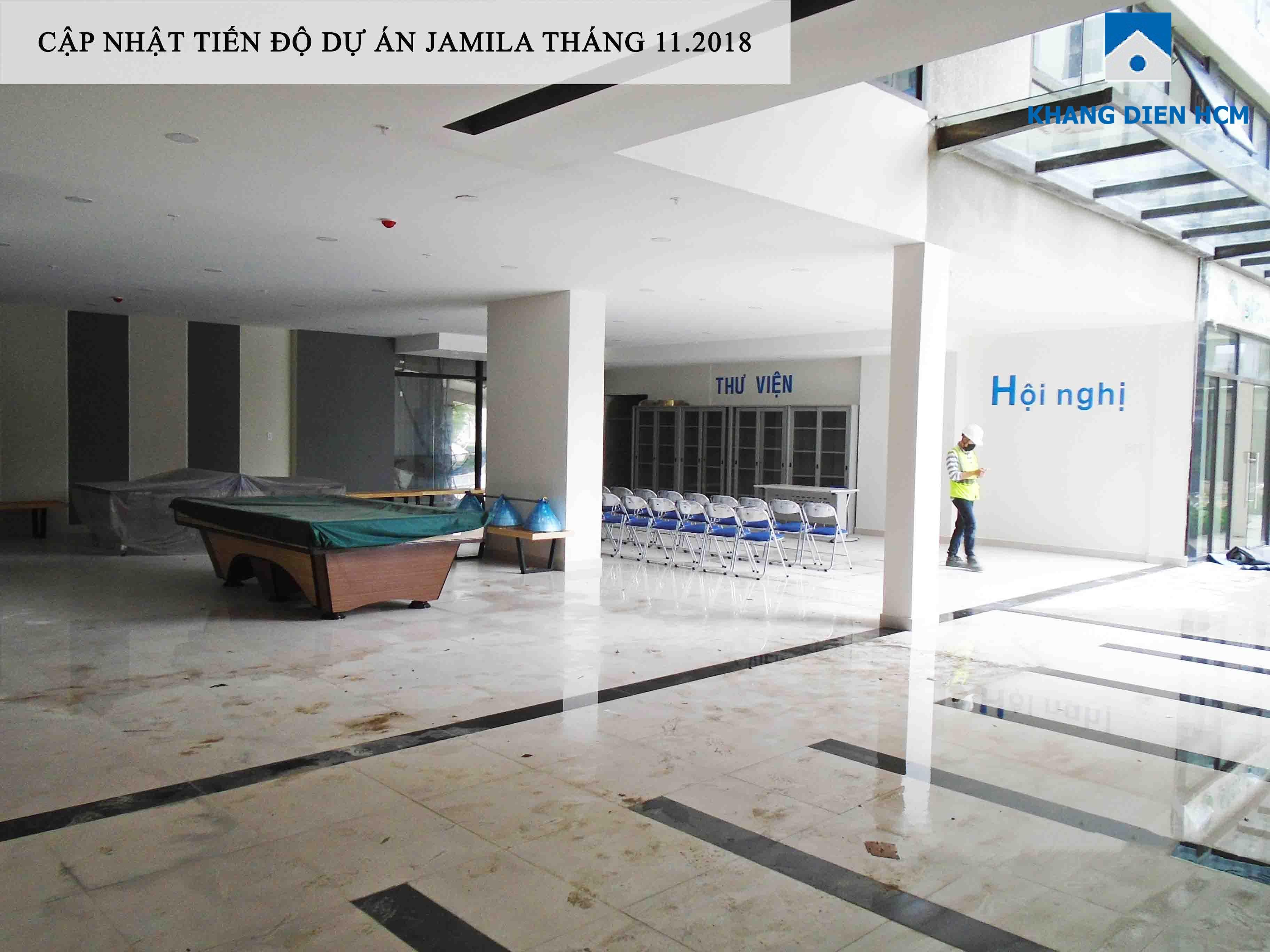 Một góc khác của phòng sinh hoạt cộng đồng và các tiện ích chung phục vụ cư dân - Khang Điền HCM