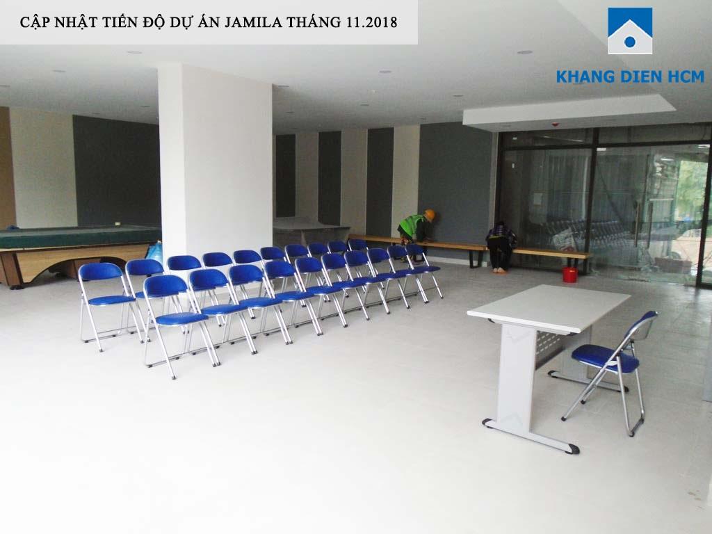 Phòng sinh hoạt cộng đồng tại dự án đã hoàn thiện và sẵn sàng phục vụ cư dân - Khang Điền HCM