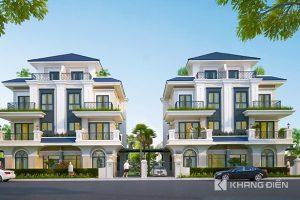 Phối cảnh tổng thể dự án biệt thự Khang Điền Bình Trưng Quận 2 - Khang Điền HCM
