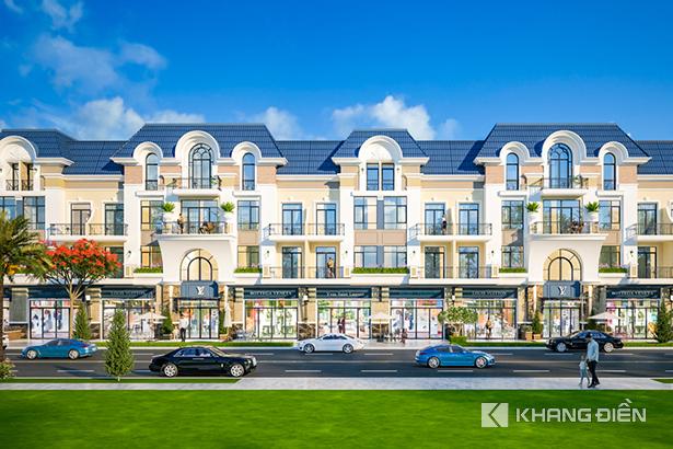 Phối cảnh tổng thể dự án Corona City Bình Chánh - KDC 11A Bình Hưng - Khang Điền HCM