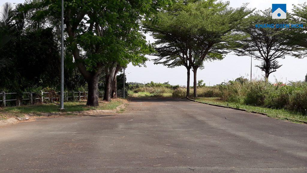 Đường đi vào dự án Venita Park Khang Điền
