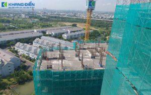 Một góc nhìn khác để thấy được View vào khu Biệt Thự và nhà phố của chính CĐT Khang Điền - Khang Điền HCM