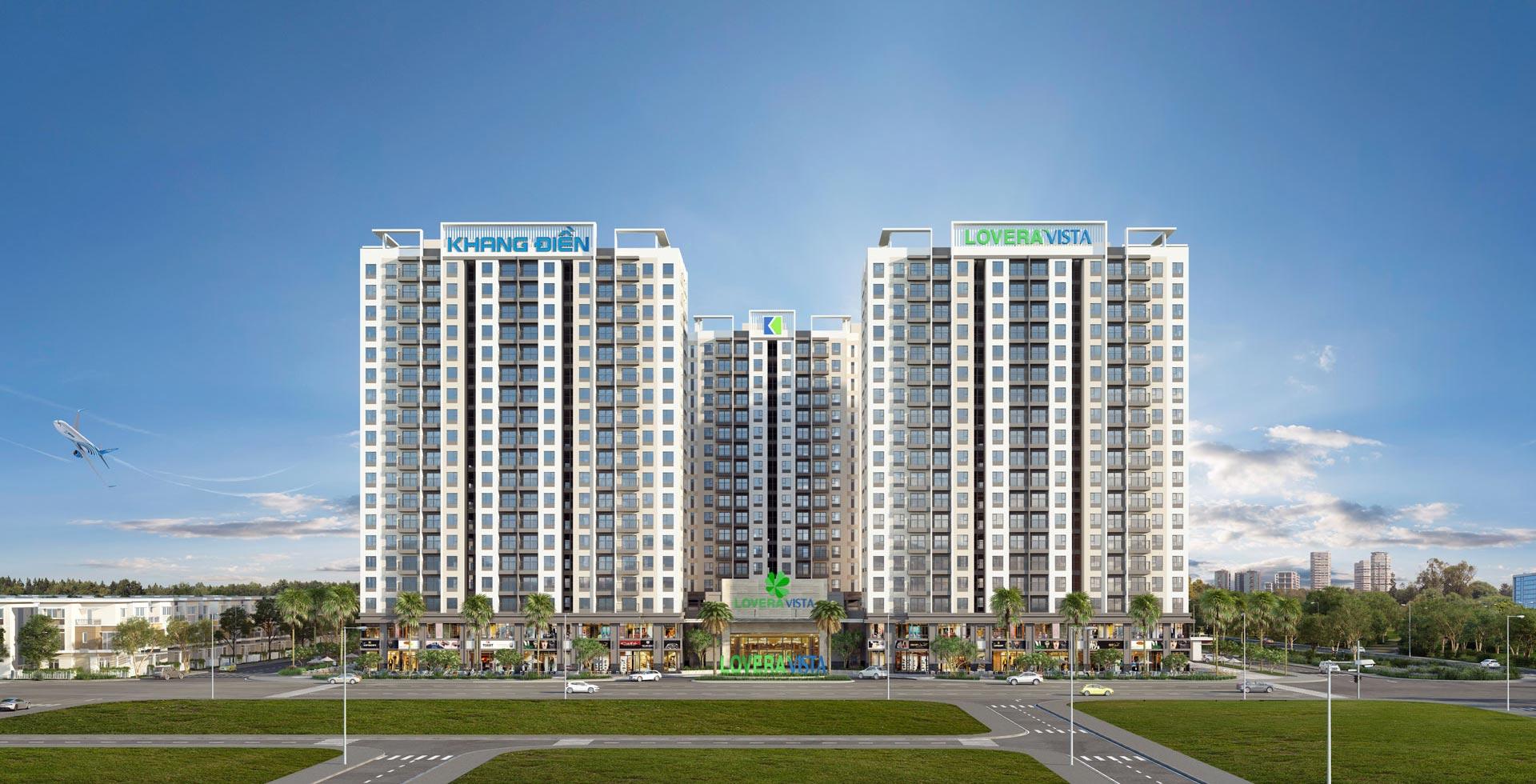 Năm 2019, Khang Điền tiếp tục mở rộng thị trường sang khu Nam TP HCM với dự án căn hộ Lovera Vista gồm 1310 căn, có giá bán dự kiến chỉ từ 1.5 tỷ/ căn 2 PN (chưa VAT), mở bán vào tháng 10-2019 - Khang Điền HCM
