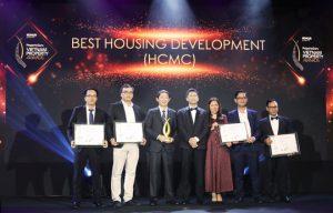 Đại diện các công ty đạt giải Best Housing Development (HCMC) - Khang Điền HCM